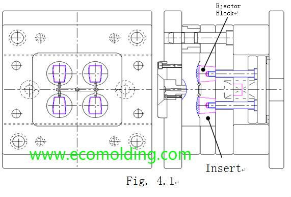 ejector block design