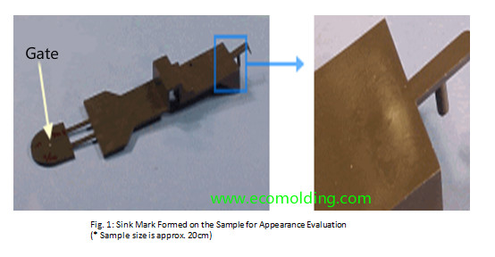 sink mark injection molding defects