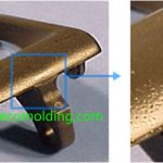 Pitting issue plastic injection molding defects