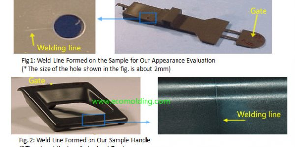 weld lines injection molding defects