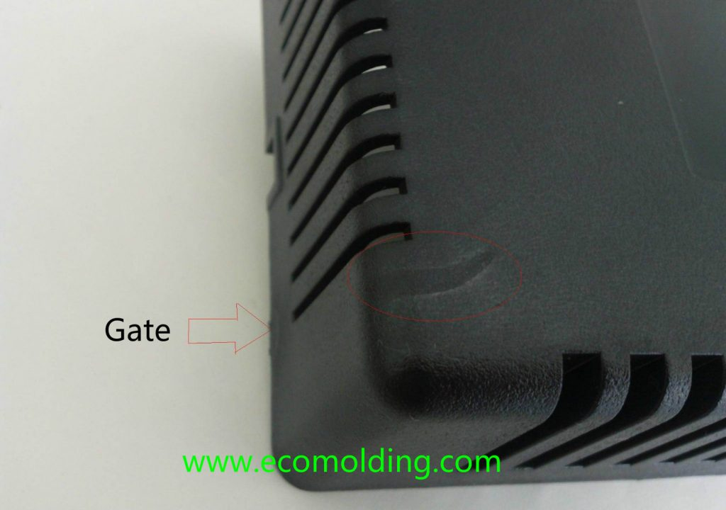 flow mark injection molding defects