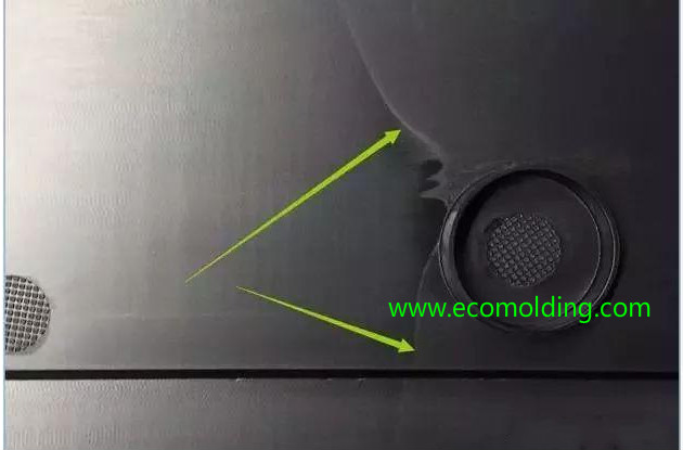 welding line plastic injection molding defects