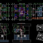 Injection mold layout design