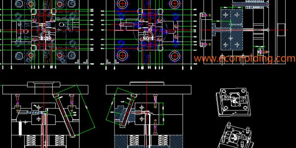 Injection-mold-layout-design